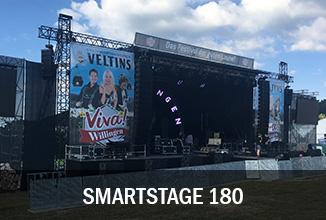 Smartstage 180 Bühne