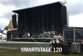 Smartstage 120 Bühne
